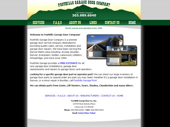 Foothills Garage Door Company