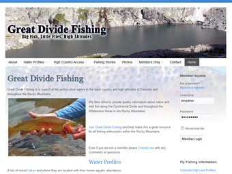 Great Divide Fishing