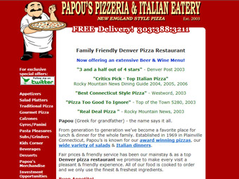 Papou's Pizza